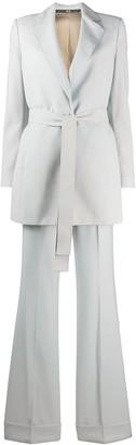 Gianfranco Ferré Pre Owned 1990s Tie Front Two-Piece Suit