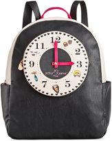 Betsey Johnson Clock Backpack