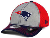 New Era New England Patriots Heathered Neo 39THIRTY Cap
