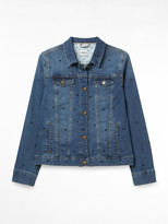 White Stuff Emb Denim Jacket
