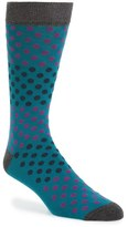 Ted Baker Men's Helium Organic Cotton Blend Socks