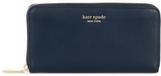 Kate Spade Zip-Around Continental Wallet