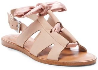 1 STATE Teena Leather Bow Sandal