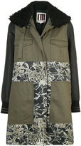 I'M Isola Marras panelled floral coat
