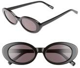 Elizabeth and James Women's Mckinely 51Mm Oval Sunglasses - Black