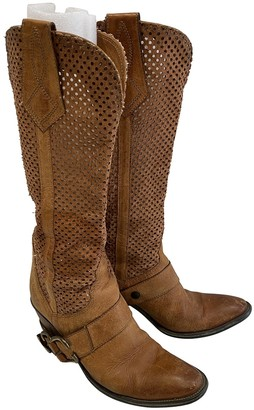 Non Signé / Unsigned Non Signe / Unsigned Hippie Chic Other Leather Boots