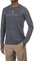 Royal Robbins RR Logo T-Shirt - Crew Neck, Long Sleeve (For Men)
