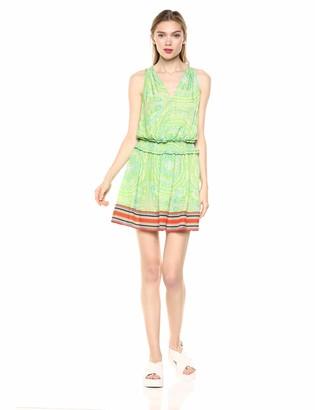 Ramy Brook Women's Dorothy Printed Sleeveless Dress