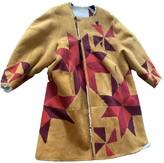 Isabel Marant Beige Shearling Coats