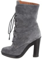 Reed Krakoff Suede Lace-Up Ankle Boots