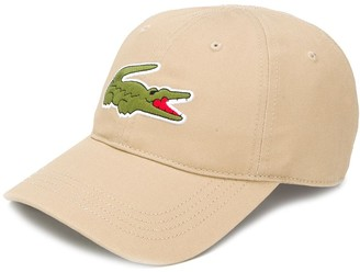 Lacoste embroidered logo baseball cap