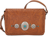 American West Women's Lariat Love Crossbody Flap Bag/Wallet