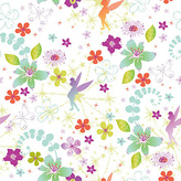 Disney Tinkerbell Wallpaper Sample - Multicoloured