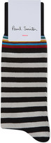 Paul Smith Multi-stripe cotton socks