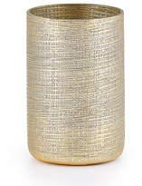 Labrazel Woven Metallic Brush Holder