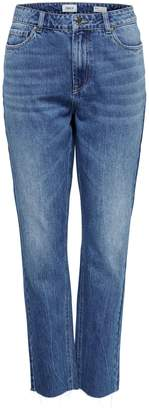 Only Faye High Rise Bootcut Ankle Jeans