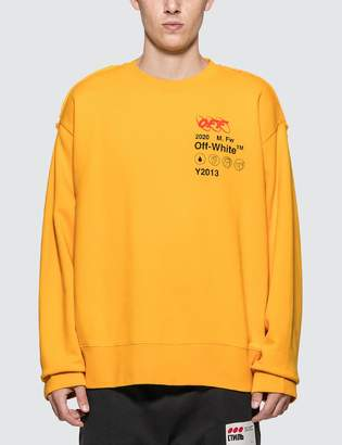 Off-White Off White Industrial Y013 Incomp Sweatshirt