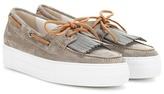 Brunello Cucinelli Suede shoes