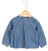 Bonpoint Girls' Chambray Button-Up Top