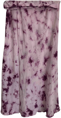 Rã©Alisation RAalisation Naomi Purple Silk Skirts