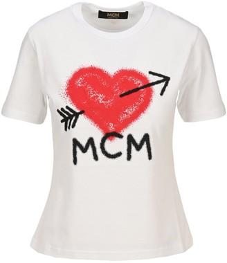 MCM Spray Logo T-Shirt