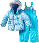 ZeroXposur Toddler Girl Beatrice Jacket & Bib Snow Pants Snowsuit Set