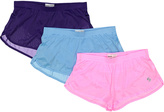 Soffe Pink & Blue Ranger Shorts Set - Women