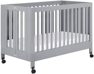Pottery Barn Kids Babyletto Maki Folding Crib, Grey, Standard UPS Delivery