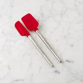 Williams-Sonoma Williams Sonoma Silicone Mini Spatula & Spoonula with Stainless-Steel Handle