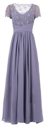 Dorothy Perkins Womens Jolie Moi Lavender Lace Maxi Dress, Lavender