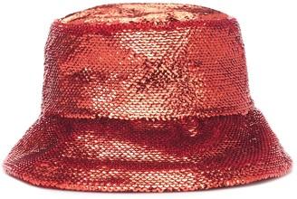 Valentino sequined bucket hat
