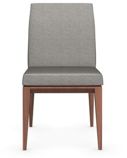 Calligaris Bess Low Upholstered Side Chair Leg Color: Smoke, Upholstery Color: Cord
