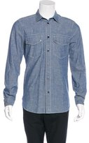 Louis Vuitton Washed Marine Chambray Shirt w/ Tags