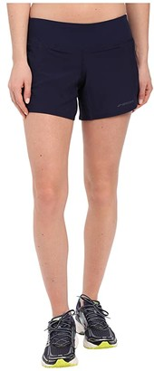Brooks Chaser 5 Shorts (Navy) Women's Shorts