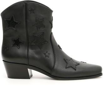 Miu Miu Texan Booties