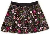 Jessica Simpson Big Girls 7-16 Sable Floral Reversible Skirt