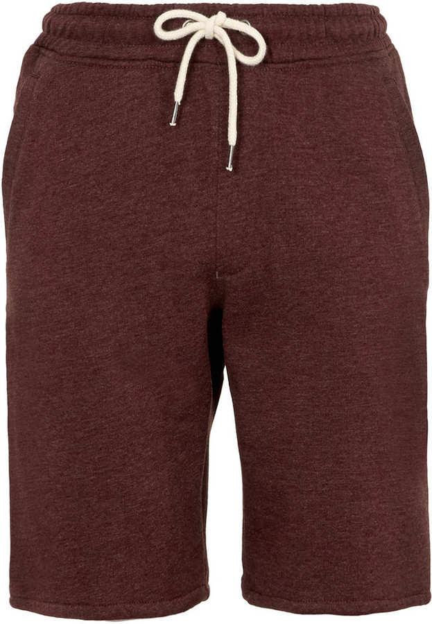 Topman Purple Jersey Shorts