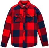 Animal Boys Lev Long Sleeve Plaid Shirt