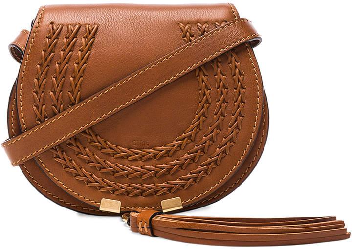 Chloé Small Leather Braid Marcie Satchel