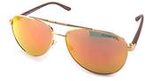 Michael Kors Orange & Brown Hvar Sunglasses