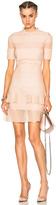 Alexander McQueen Bandage Mini Dress