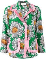 Gucci daisy print pyjama shirt - women - Silk - 40