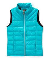 Roper Turquoise Parachute Crushable Puffer Vest - Girls