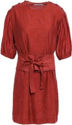 Rebecca Minkoff Modal-blend Jacquard Mini Dress