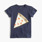 J.Crew Girls' sequin pizza T-shirt
