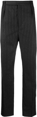 Saint Laurent Metallic Stripes Tailored Trousers