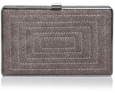 Sondra Roberts Quilted Embossed Stingray Clutch
