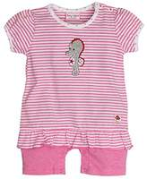 Salt&Pepper SALT AND PEPPER Baby Girls' BG Playsuit Kurz Stripe Footies