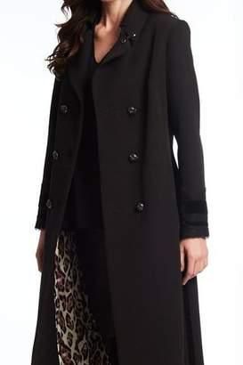 Alberto Makali Leopard Lined Coat