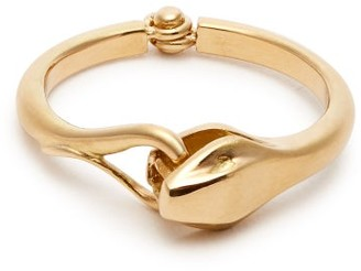 Marc Alary Snake 18kt Gold Ring - Yellow Gold